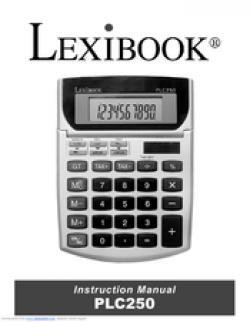 Lexibook PLC250